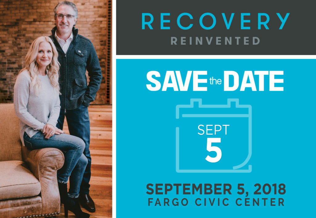 save the date recovery reinvented