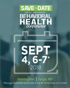 2018 North Dakota Behavioral Health Conference